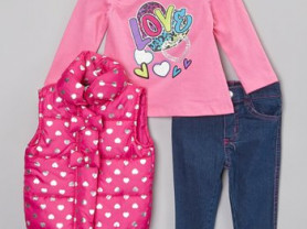 Безрукавка+джинсы+лонг - комплект-троечка