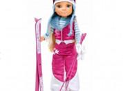Кукла на лыжах