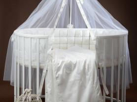 Комплект в кроватку из жаккарда Премиум-класса