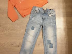 Пакет одежды для девочки на 104/110 см