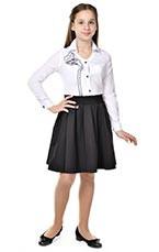 юбка с притачным поясом с резинкой