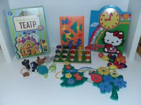 Пакет развивающих игрушек.