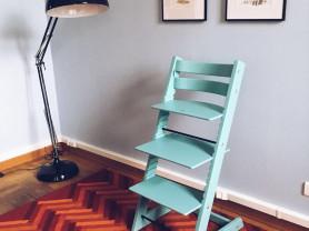 Барный высокий растущий стул