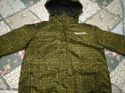 Зимняя куртка Tokka Tribe Хаки с утеплителем