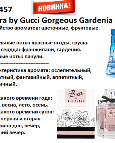 Flora by Gucci Gorgeous Gardenia (Gucci parfums) 100мл