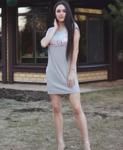 КОЛЛЕКЦИЯ BEACHOLOGY ТУНИКА № 231711 джинса