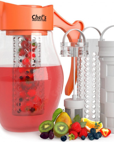 Chef's INSPIRATIONS 3 in 1 Fruit & Tea Infusion Water