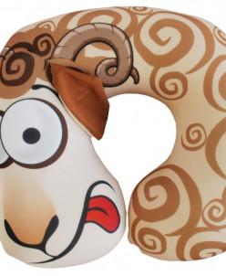 Подушка под шею Игрушка Баранчик - 2 цвета