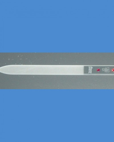 стеклянная пилка для ногтей СКОРПИОН, 140х2мм