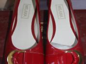 Новые красные балетки