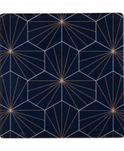 Подставка керамическая (синяя) Aster без инд.упаковки Maxwel