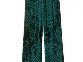 Balmain HM шикарные брюки изумрудного цвета