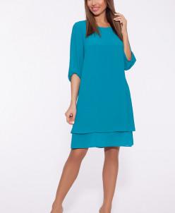69205 Платье (Max&Style)Бирюзовый