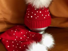 НОВЫЙ набор шапочка+шарф