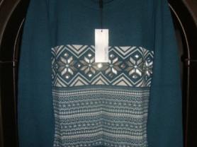 Новый,новогодний женский пуловер JUST VALERI 46р.