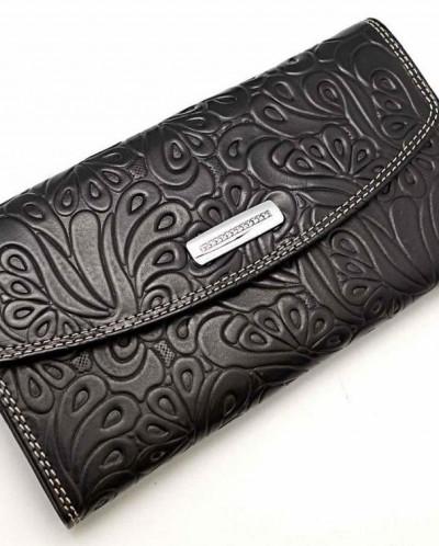 Большой женский кожаный кошелек Sergio Valentini СВ 3184-125