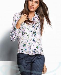 Легкая принтованная блуза