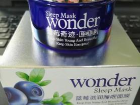 Ночная маска для лица BIOAQUA с экстрактом черники