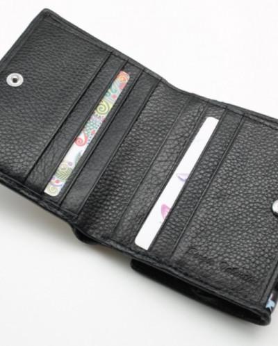 Маленький женский кожаный кошелек Sergio Valentini СВ 8007-0