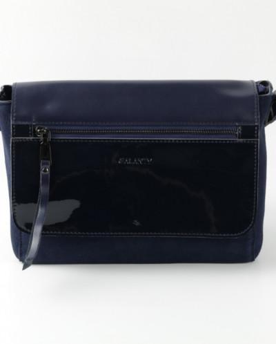 Женская кожаная сумка G-QM1006 Синий