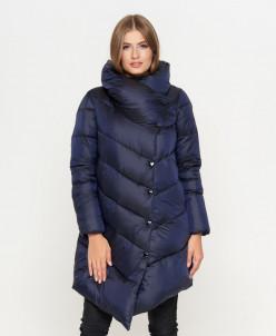 Синяя модная куртка женская модель 816