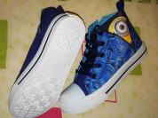 Новые детские кеды Миньоны р. 31 Джук есть шнурки