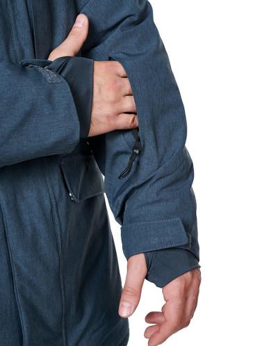 Куртка мужская, сезон 2019-2020, арт. A-8813, Темно-серый