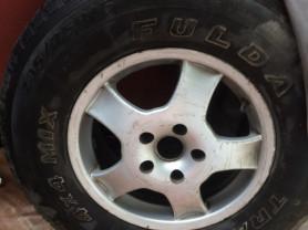 Шина FULDA TRAMP 4X4 MIX 235/75 R 15 продам