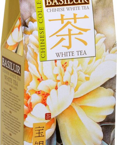 "Чай Basilur ""Китайский чай"" БЕЛЫЙ ЧАЙ 100гр картон"