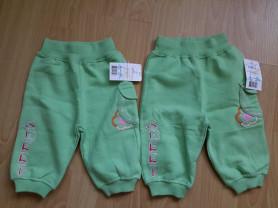 Новые штанишки футер 3-6мес, за оба 700руб