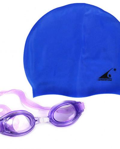 Набор для плавания шапочка+очки