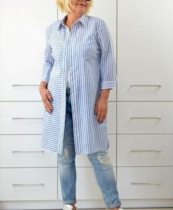 Рубашка коттон поплин 1645-5