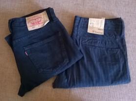 Джинсы Levis W34L32,х/б брюки Tom Tailor W33L32