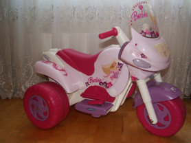 Электромобиль Barbie Scooter Peg-Perego