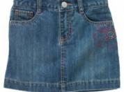 Джинсовая юбка с шортиками Gymboree р.6, новая