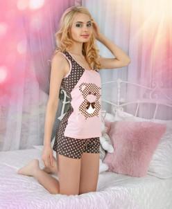 Пижама женская кулирка