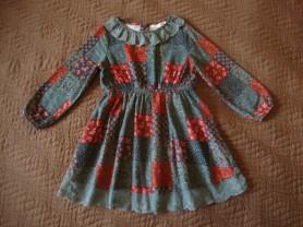 Платье для дефочки ф.KOTON.Размер 104-110.