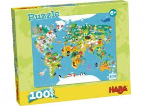 """HABA Пазл """"Карта мира"""" - 302003"""
