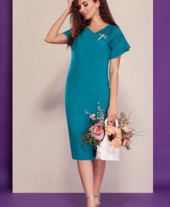 платье Dilana VIP Артикул: 1506 бирюза