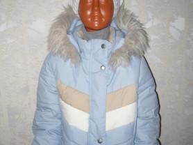 Kerry Керри новая куртка р 128 зимняя для девочки