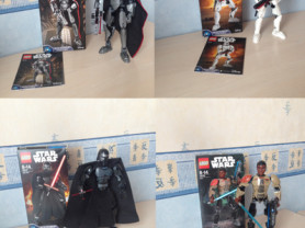 4 набора Lego Star Wars