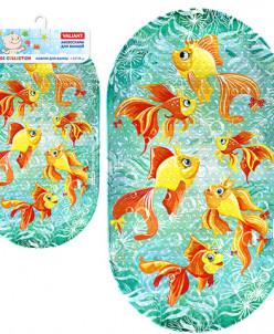 VALIANT Коврик в ванну Золотые рыбки