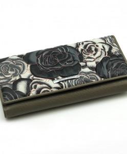 Большой женский кожаный кошелек Sergio Valentini СВ 8081-035