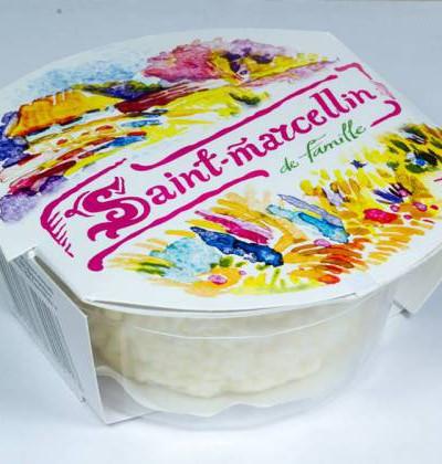 «Сан марселлин де фамиль», сыр мягкий с белой плесенью, 75 г