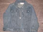 джинсовая куртка р.116