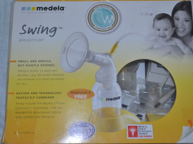 Молокоотсос электронный Medela Swing новый