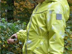 Новая яркая куртка ветровка мембрана на флисе 116