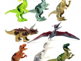Набор Динозавры Лего. 8 фигурок.