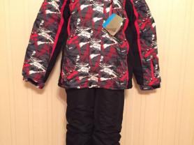 Зимние теплые мембранные лыжные куртки комплекты