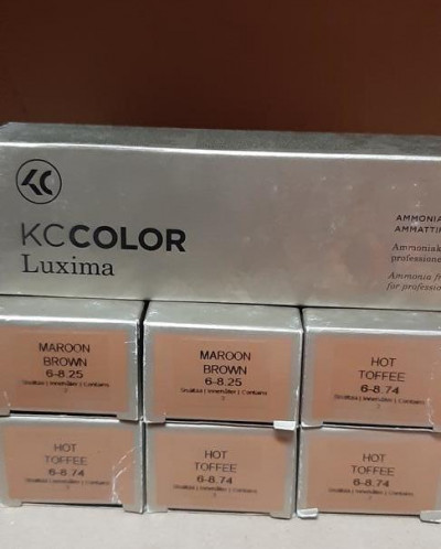Kc luxima краска для волос Финляндия
